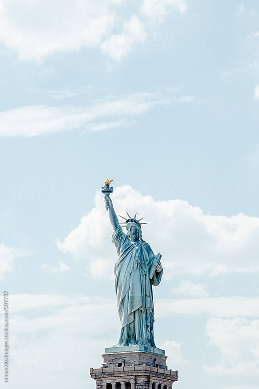 Statue Of Liberty, New York City by minamoto images for Stocksy United