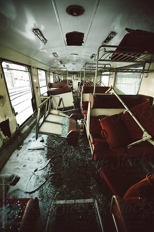 Demolished train by Robert Kohlhuber for Stocksy United