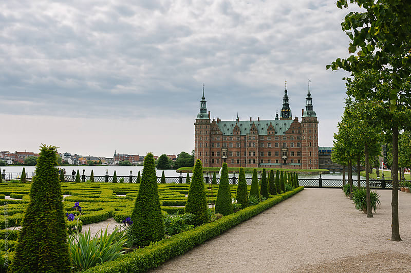 Fredensborg Castle  by Zocky for Stocksy United
