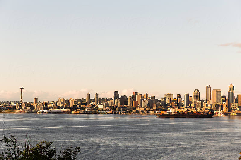 Seattle Skyline by Jayme Burrows for Stocksy United