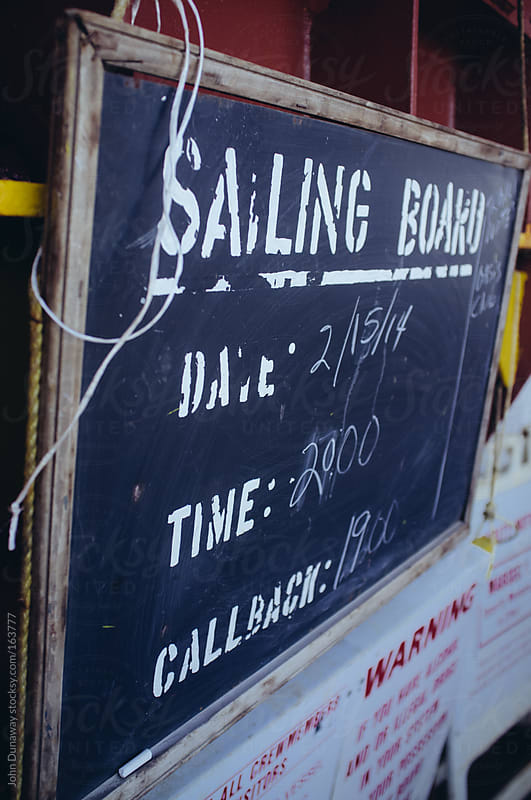 Sailing Board by John Dunaway for Stocksy United