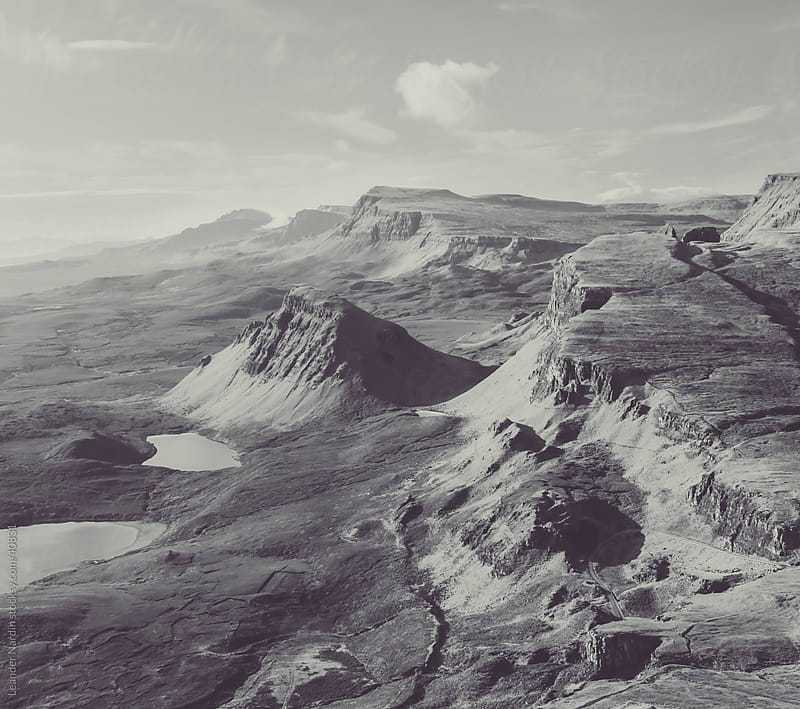 Quiraing  by Leander Nardin for Stocksy United