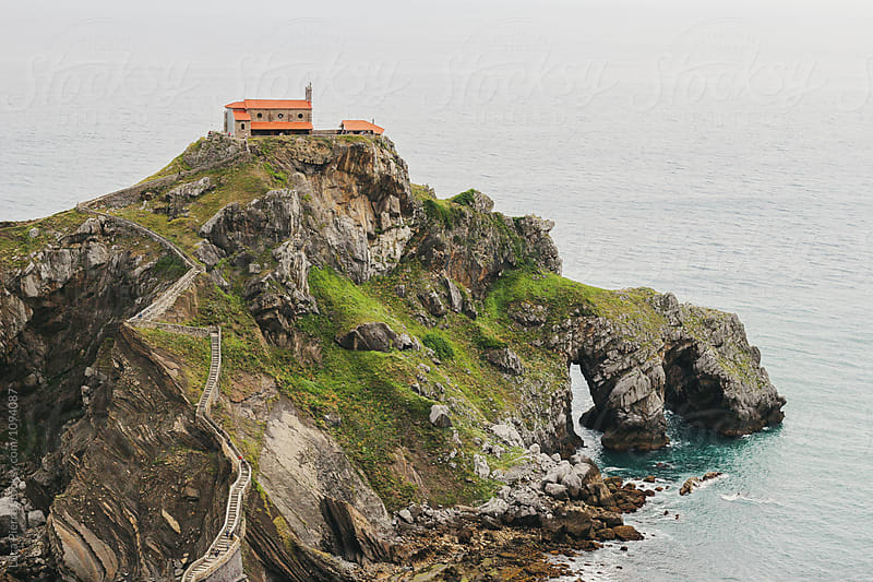Hermitage of San Juan de Gaztelugatxe by Luca Pierro for Stocksy United