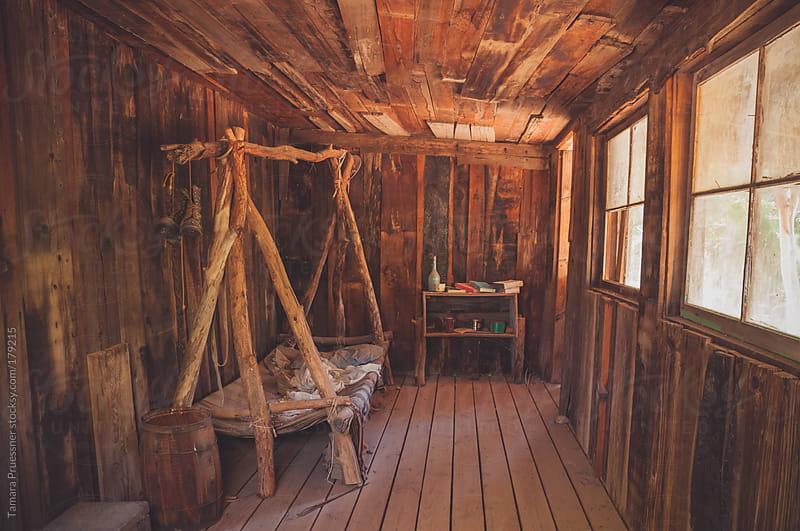 Image Of Antique Rough Bedroom by Tamara Pruessner for Stocksy United