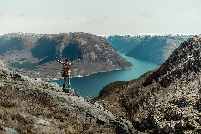 Fjords of Norway by Ryan Ahern for Stocksy United