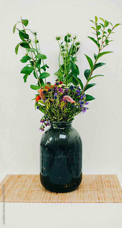 Vase Full of Wildflowers by Lumina for Stocksy United