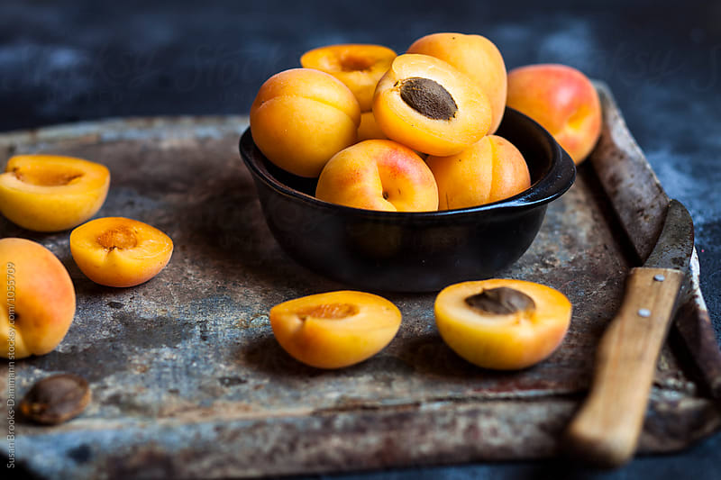 Apricots by Susan Brooks-Dammann for Stocksy United