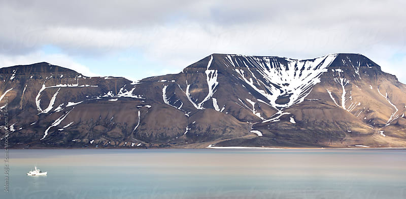 Svalbard landscape by Jelena Jojic Tomic for Stocksy United