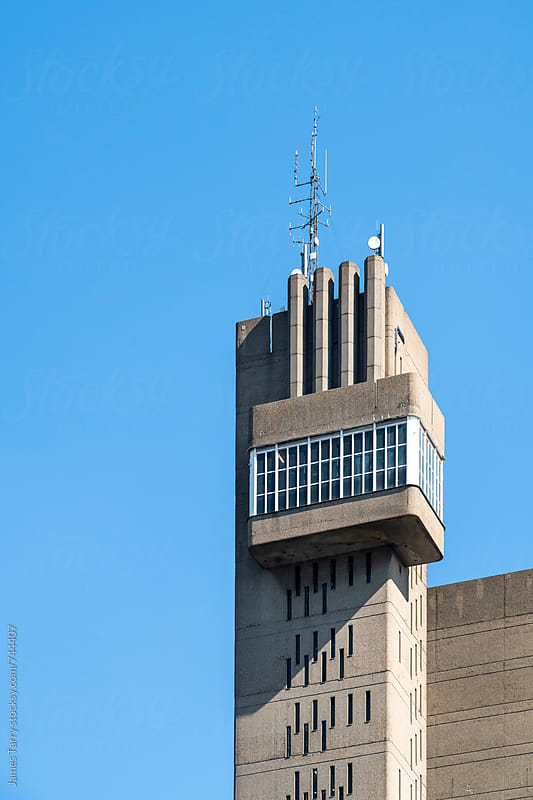 Brutal tower by James Tarry for Stocksy United