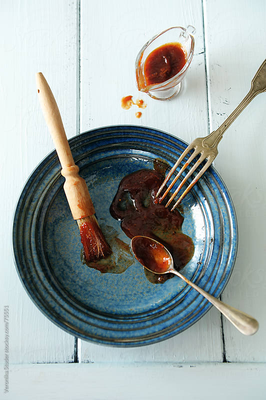 BBQ sauce by Veronika Studer for Stocksy United