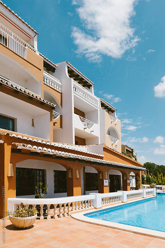 Rural Hotel in Majorca, Spain by VICTOR TORRES for Stocksy United