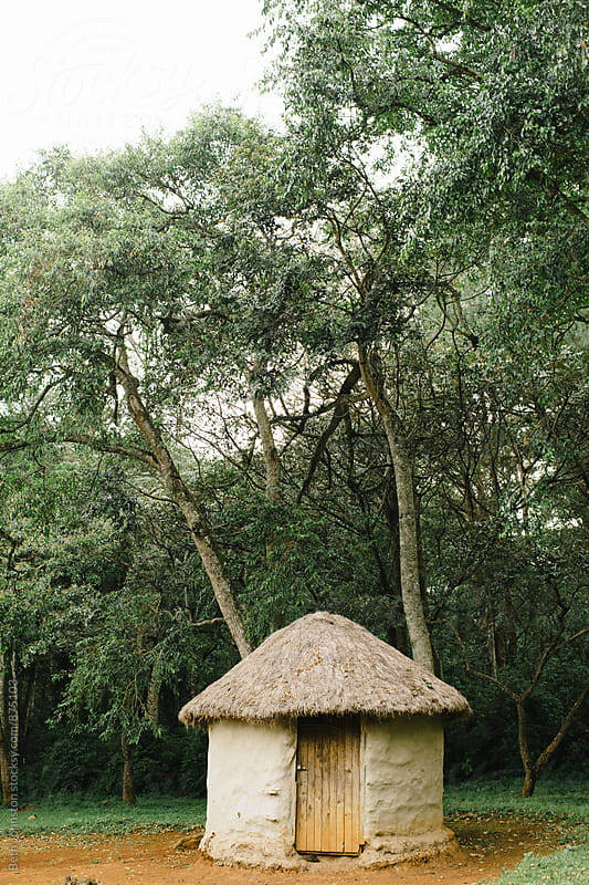 Traditional Kenyan Villa Hut by Beth Johnston for Stocksy United