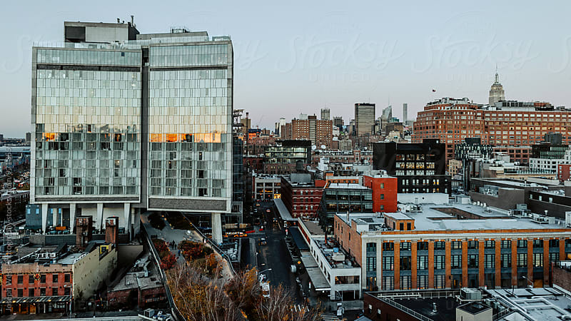 New York City Skyline and the High Line by Joseph West Photography for Stocksy United