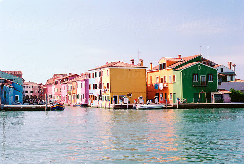 Colors of Burano by Bor Cvetko for Stocksy United