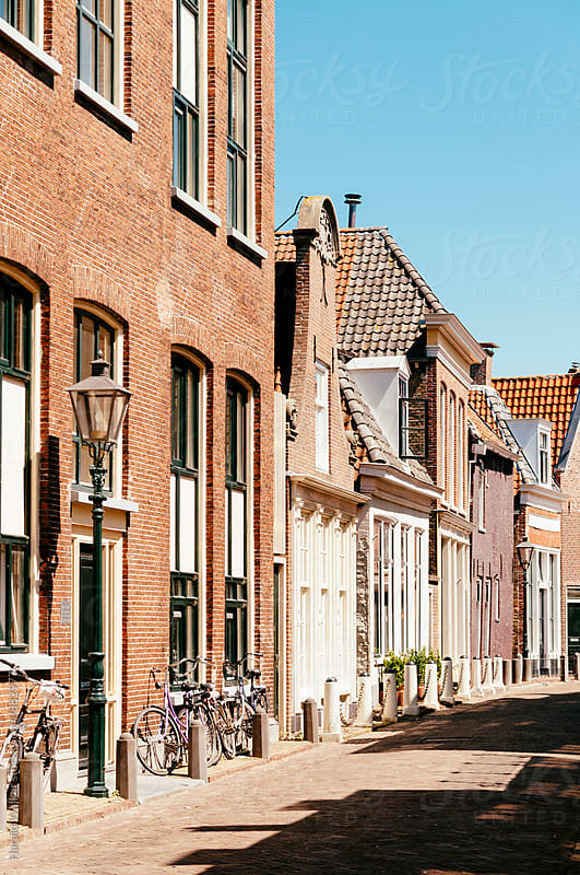Street in Harlingen by Harald Walker for Stocksy United