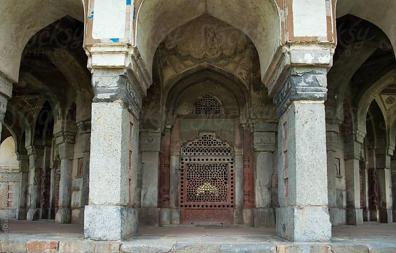 Inside Agra Fort by Gabriel Diaz for Stocksy United