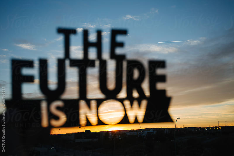 The future is now by CACTUS Blai Baules for Stocksy United