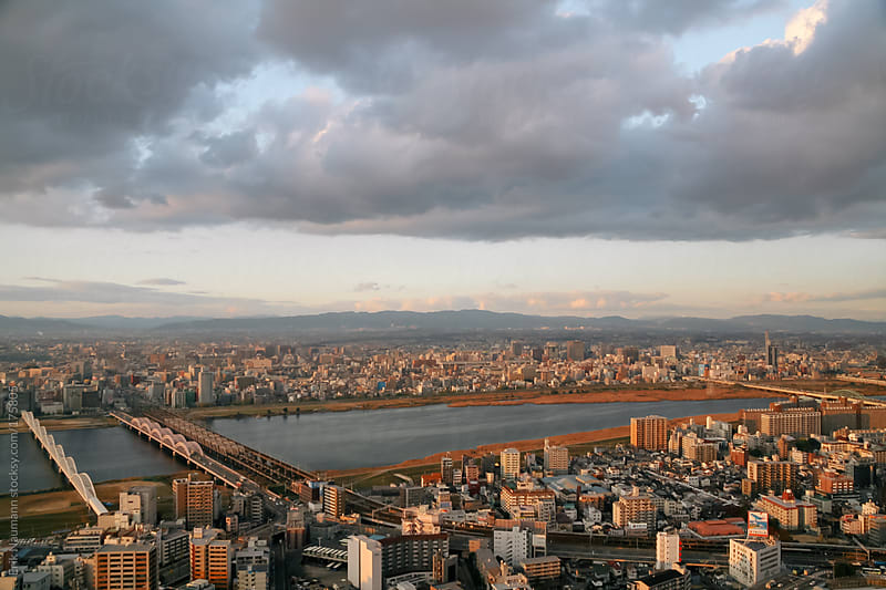 Osaka city view by Erik Naumann for Stocksy United