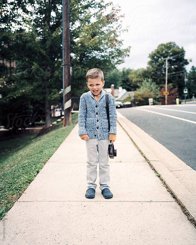 Young Dapper Photographer by Cameron Whitman for Stocksy United