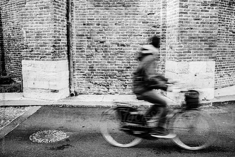 Riding a Bicycle in Rome by Good Vibrations Images for Stocksy United