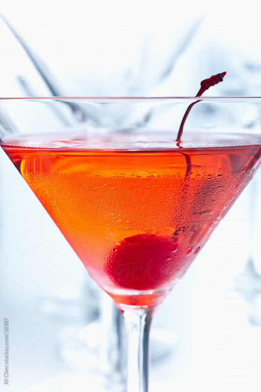Big Red Martini by Jill Chen for Stocksy United