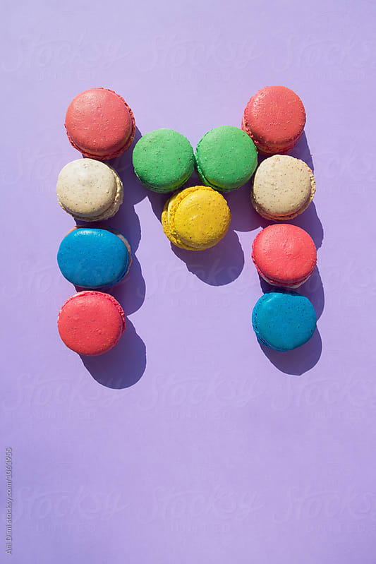 Delicious colorful macaroons by Ani Dimi for Stocksy United
