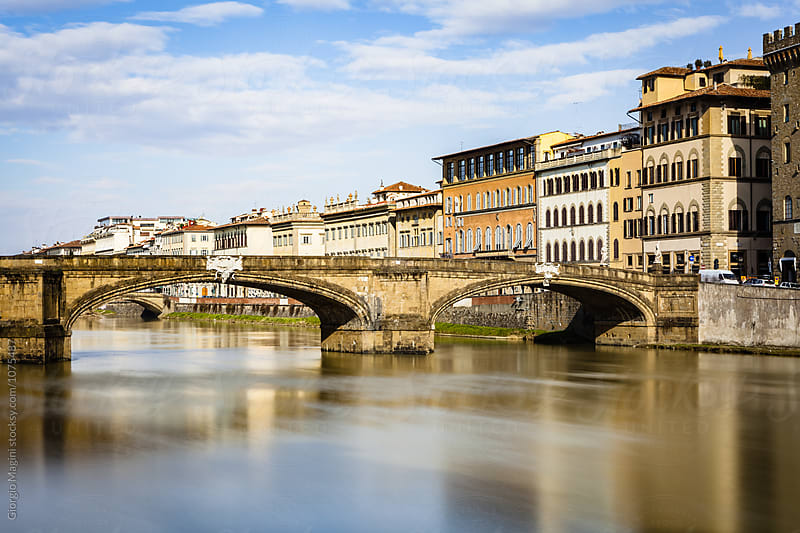 Ponte Santa Trinita Bridge in Firenze, Italy by Giorgio Magini for Stocksy United