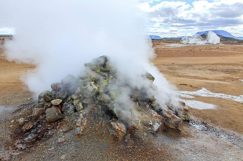 Volcanic activity. Hverarond. Iceland. by John White for Stocksy United