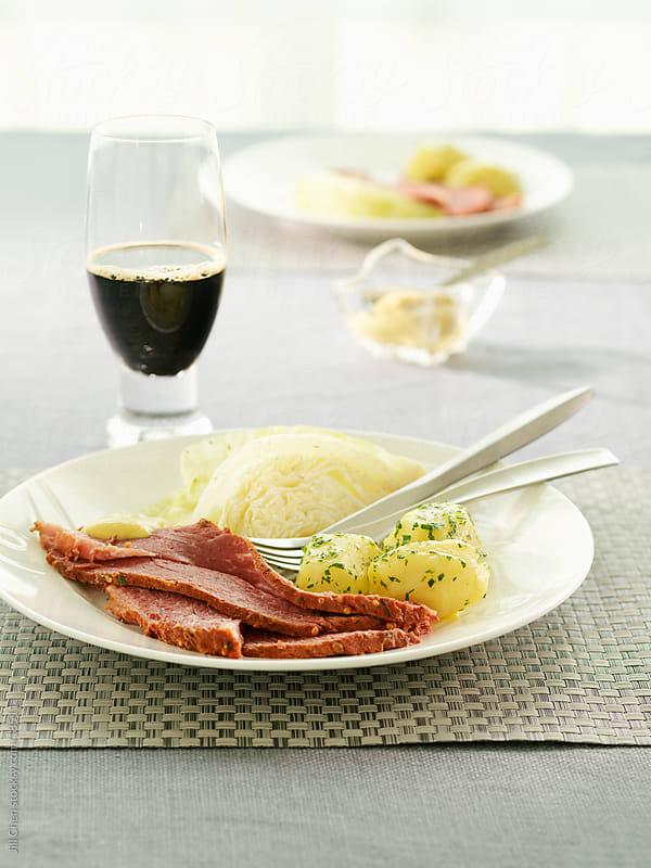 Irish Corned Beef and Cabbage by Jill Chen for Stocksy United