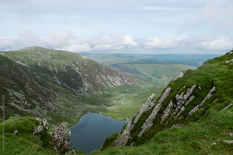 Cadair idris in Snowdonia, Wales. by Helen Rushbrook for Stocksy United