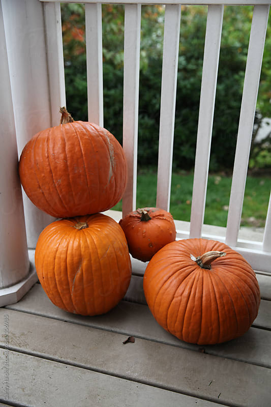 Halloween Pumpkins by Carey Haider for Stocksy United