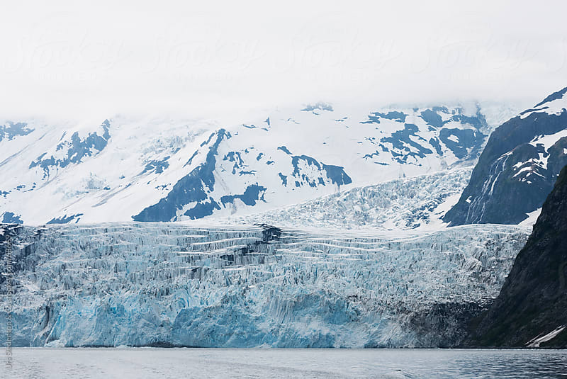 Glacier in Alaska by Urs Siedentop & Co for Stocksy United