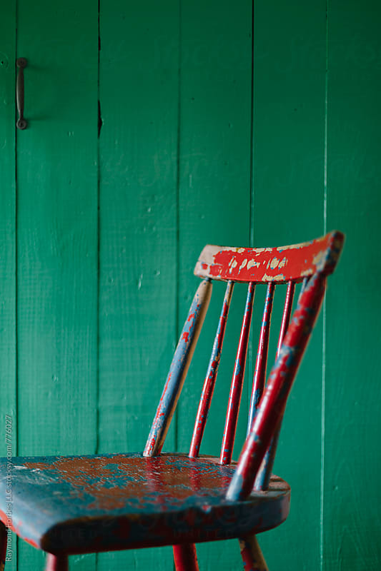 Red Chair by Raymond Forbes LLC for Stocksy United