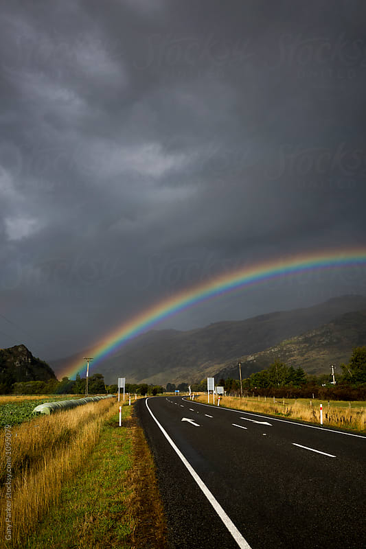 Rainbow Road by Gary Parker for Stocksy United