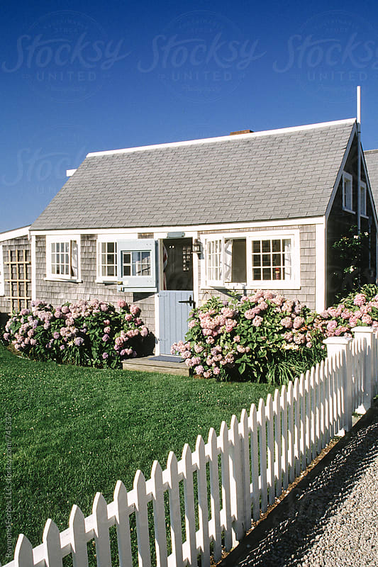 Nantucket Cottage by Raymond Forbes LLC for Stocksy United