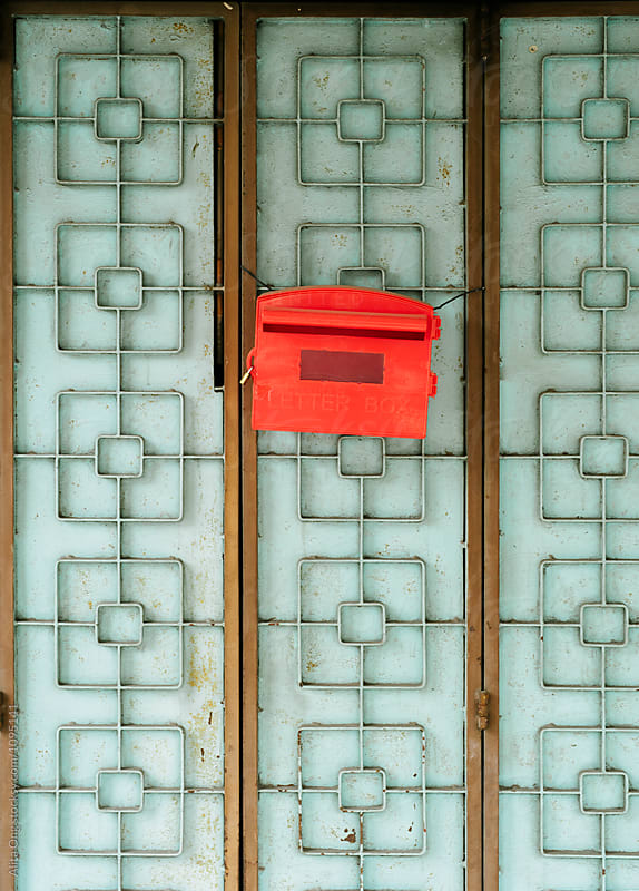 Letter box by Alita Ong for Stocksy United