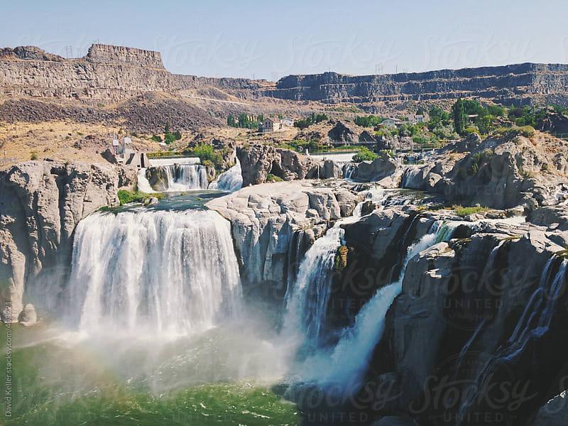 Shoshone Falls by David Keller for Stocksy United