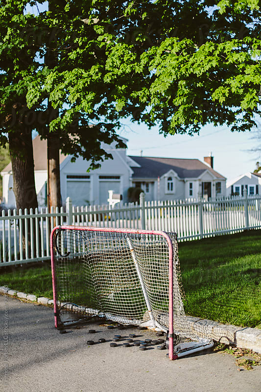 Hockey Pucks by Raymond Forbes LLC for Stocksy United