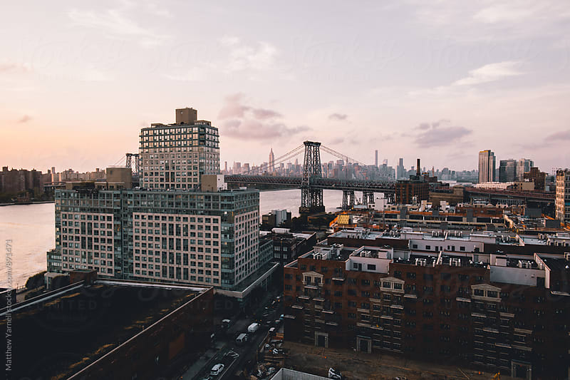 WIlliamsburg Sunset by Matthew Yarnell for Stocksy United
