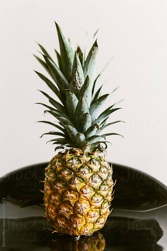 Whole Pineapple. by Darren Muir for Stocksy United