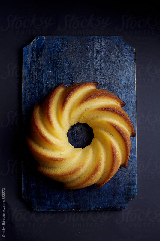 Orange Bundt Cake by Orsolya Bán for Stocksy United