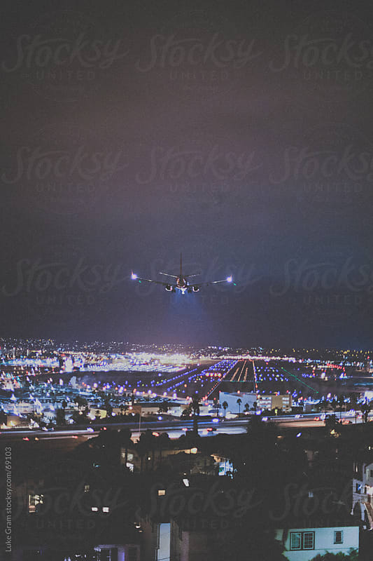 San Diego International Airport by Luke Gram for Stocksy United