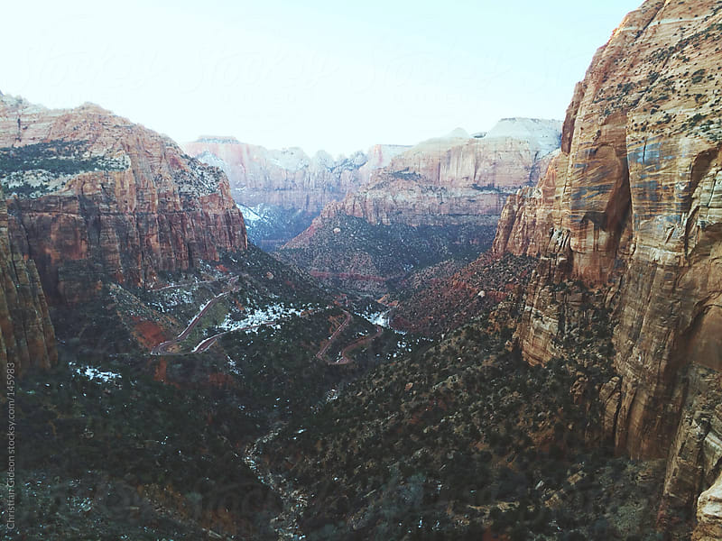 Zion National Park by Christian Gideon for Stocksy United