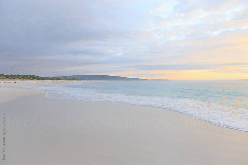 Dawn at Bremer Bay. Western Australia. by John White for Stocksy United