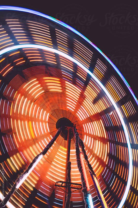 Carnival ferris wheel by Pixel Stories for Stocksy United