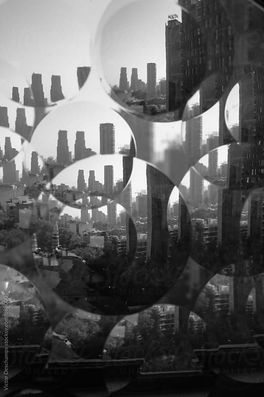 Kaleidoscopic View From The City  by Victor Deschamps for Stocksy United