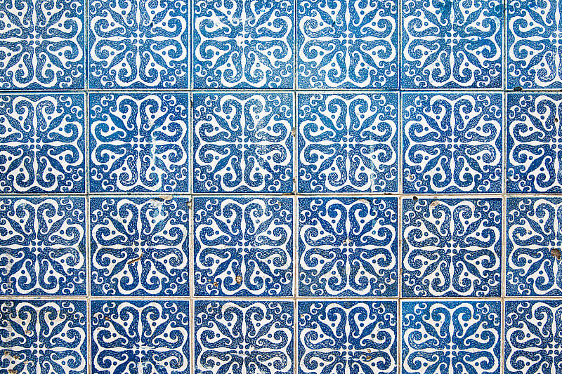 Tiles Backgound, Oporto by Bisual Studio for Stocksy United