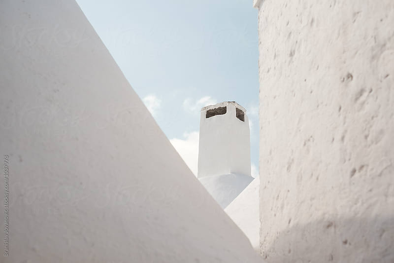 Chimney Detail from Alberobello, Italy by Branislav Jovanovic for Stocksy United