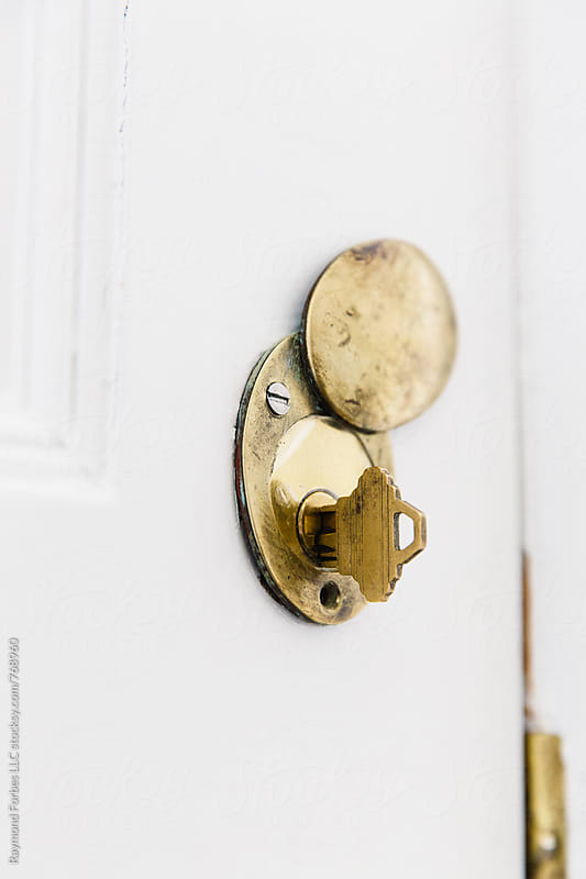Brass Door Lock by Raymond Forbes LLC for Stocksy United