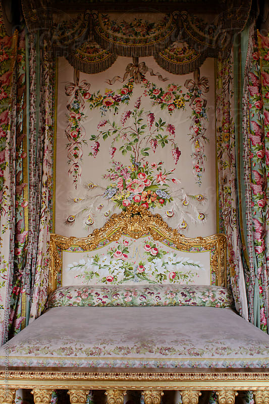 An Ornate bed for a queen by Jesse Morrow for Stocksy United